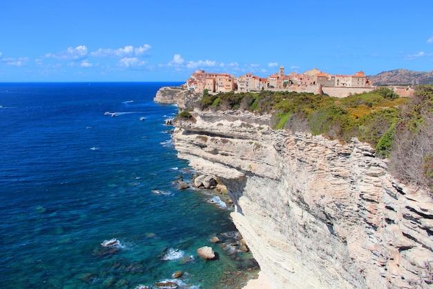 Zdjęcia Lotnicze Z Pięknego Rezerwatu Przyrody Bonifacio We Francji Darmowe Zdjęcia