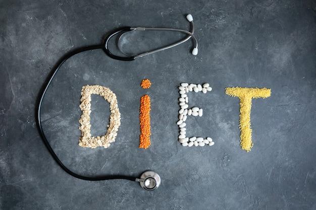 Zdrowe Jedzenie Dla Streszczenie Diety Serca. Dietetyk Oferuje Zdrową Dietę. Zdrowy Tryb życia. Zdrowe Jedzenie W Sercu I Kardiograf Na Tablicy Medycznych Streszczenie. Premium Zdjęcia