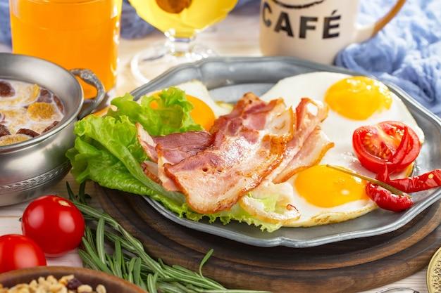 Zdrowe śniadanie Premium Zdjęcia