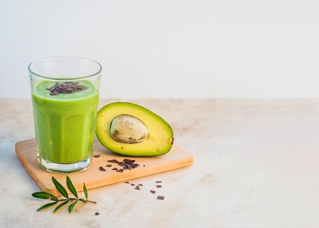 Zdrowy i pyszny zielony koktajl Darmowe Zdjęcia