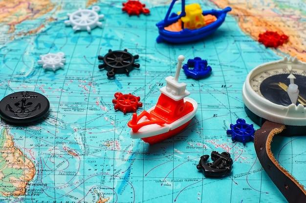 Żeglarstwo i podróże morskie Premium Zdjęcia