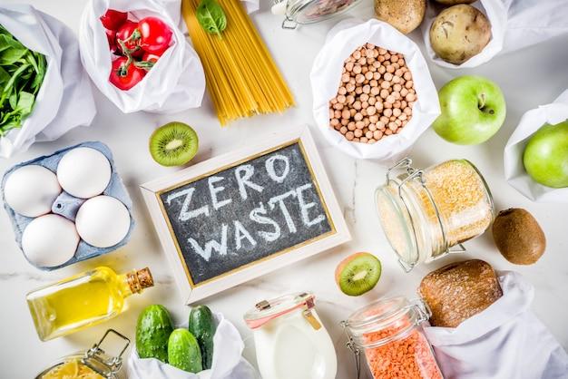 Zero koncepcji zakupów odpadów Premium Zdjęcia
