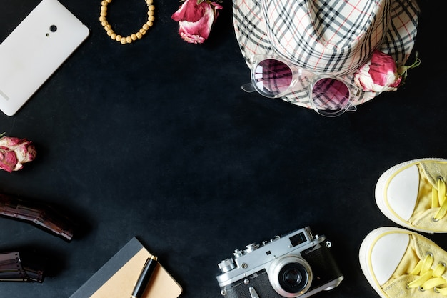 Zestaw Fotografii Vintage Fineart Premium Zdjęcia