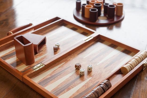 Zestaw Gier Backgammon Premium Zdjęcia