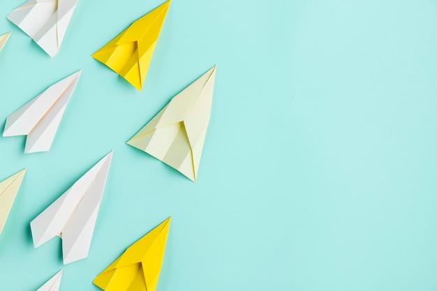 Zestaw Samolotów Papierowych Darmowe Zdjęcia