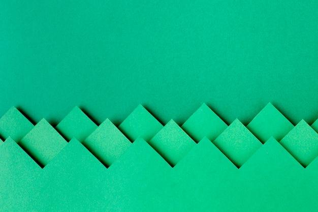Zielona Księga Kształtuje Projekt Tła Premium Zdjęcia