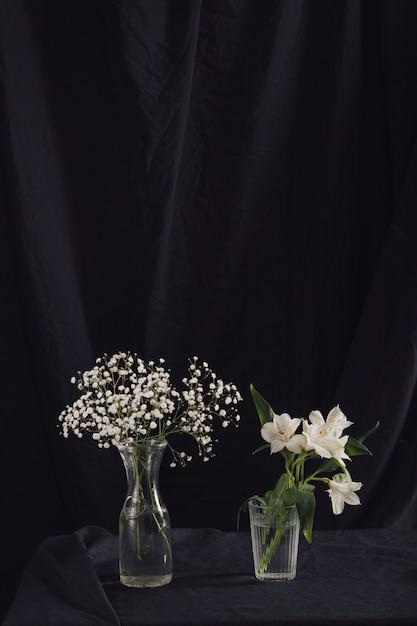 Zielone Rośliny I Kwiaty W Wazonach Darmowe Zdjęcia