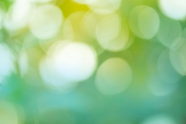 Zielony Bokeh Tło Premium Zdjęcia