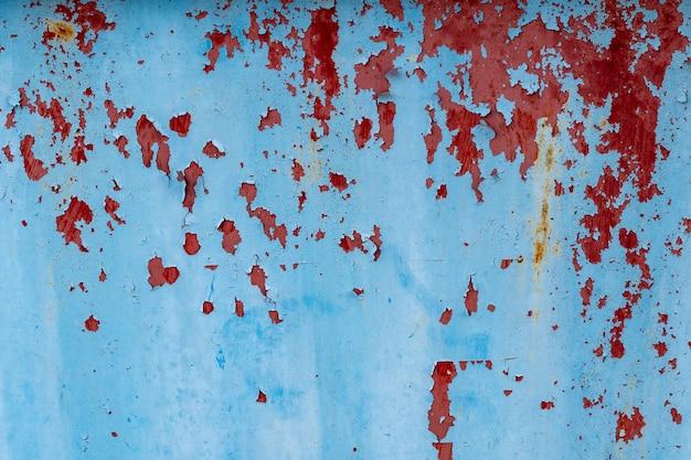 Zielony I Niebieski Pył I Porysowane Teksturowane Tła Z Miejsca. Premium Zdjęcia