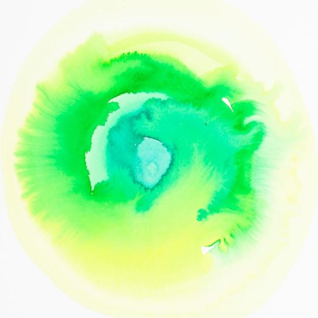 Zielony kolor akwarela ręcznie rysowane tło gradientowe Darmowe Zdjęcia