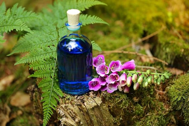 Ziołowa Naturalna Nalewka, Magiczna Mikstura.homeopatia I Medycyna Alternatywna Premium Zdjęcia
