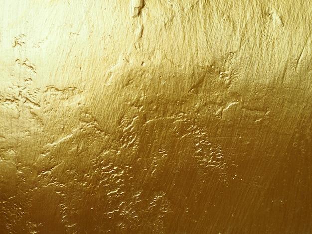 Złocistej ściany Abstrakcjonistyczny Tło I Tekstura. Premium Zdjęcia