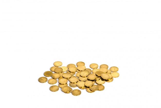 Złote monety Premium Zdjęcia