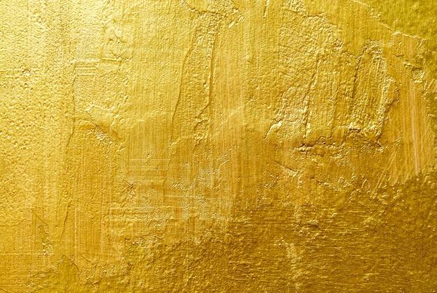 Złote tło lub cień tekstury i gradienty Premium Zdjęcia