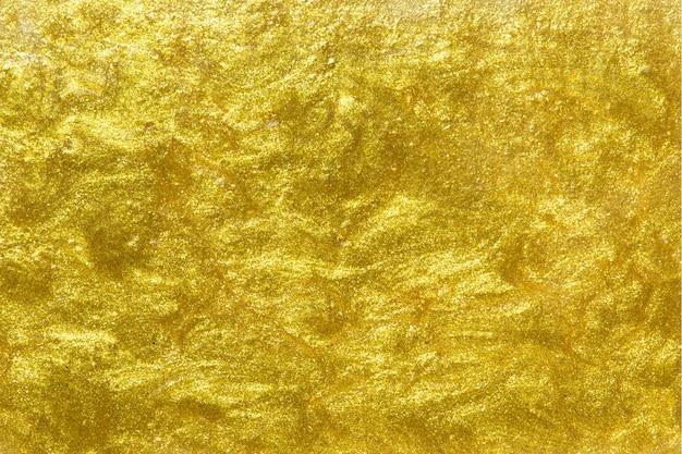 Złoto malujący textured ścienny tło Darmowe Zdjęcia