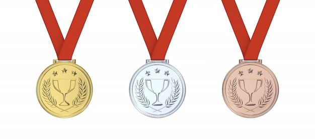 Złoty Medal Premium Zdjęcia