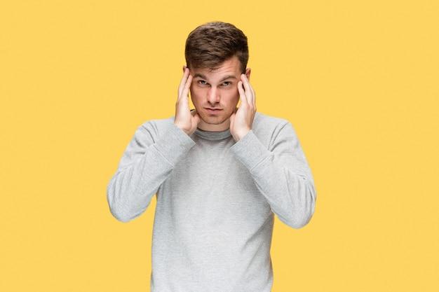 Zmęczony Biznesmen Z Bólem Głowy Darmowe Zdjęcia