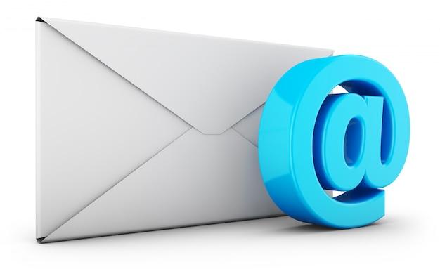 Znak koperty i e-maila Premium Zdjęcia