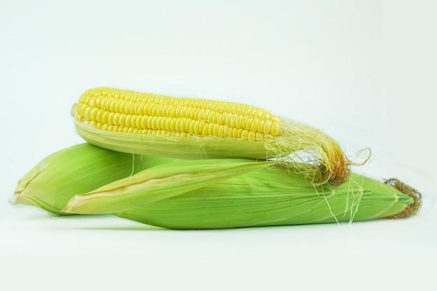 Żółta Kukurydza Ma Wyśmienity Słodki Smak. Premium Zdjęcia