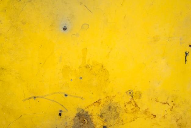 Żółtego Metalu Stalowego Talerza Ośniedziała Tekstura Dla Tła Premium Zdjęcia