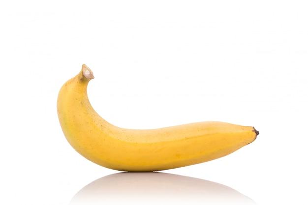 Żółty banan. Premium Zdjęcia
