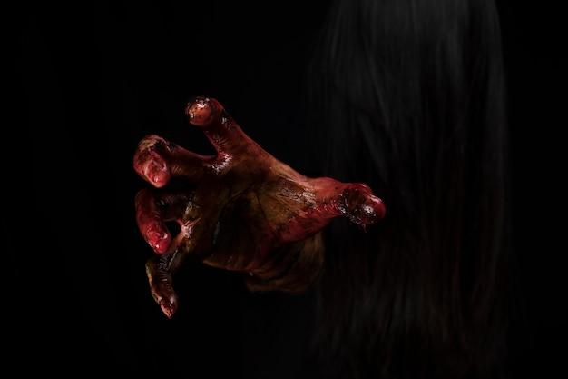 Zombie strony. koncepcja motywu halloween. Darmowe Zdjęcia