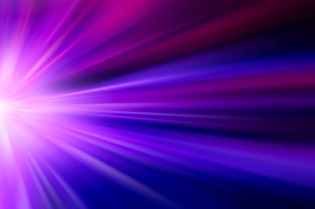 Zoom Ruch Szybki Efekt Dużej Prędkości Abstrakcyjnej Koncepcji Biznesowej Na Fioletowym Odcieniu Koloru Niebieskiego Tła Premium Zdjęcia