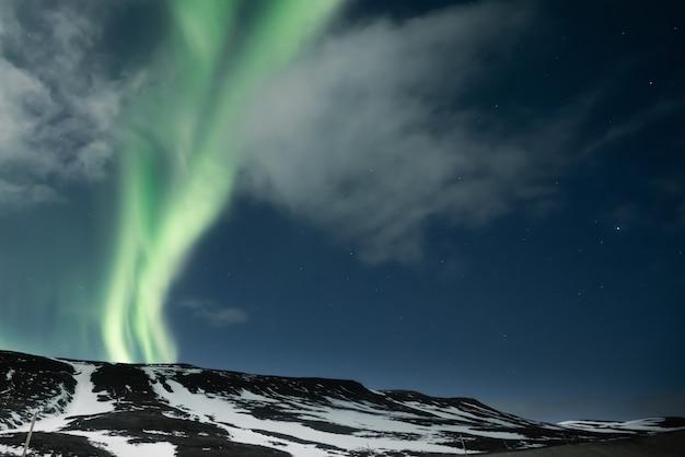 Zorza Polarna Zorzy Polarnej Premium Zdjęcia
