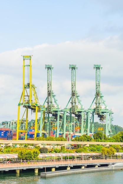 Żuraw Singapore żeglugi Towarowej Darmowe Zdjęcia