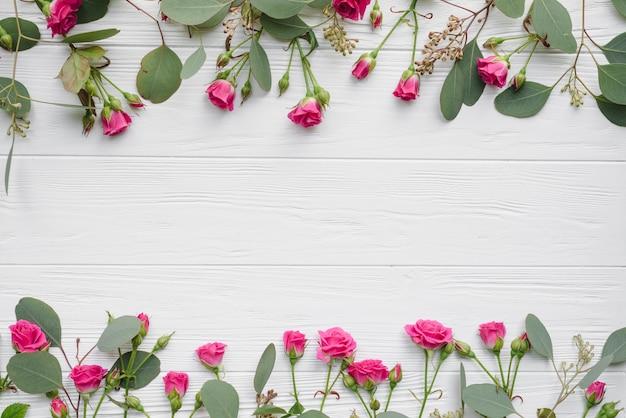Zwały kwiatów i liści Darmowe Zdjęcia