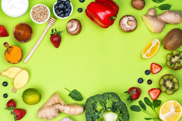Żywność Wzmacniająca Odporność Premium Zdjęcia