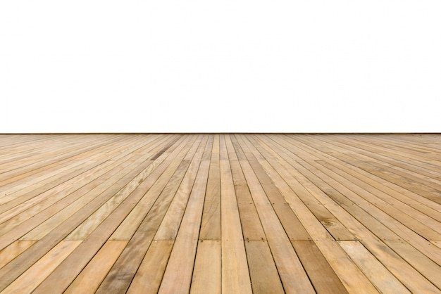 Acera de madera Foto gratis