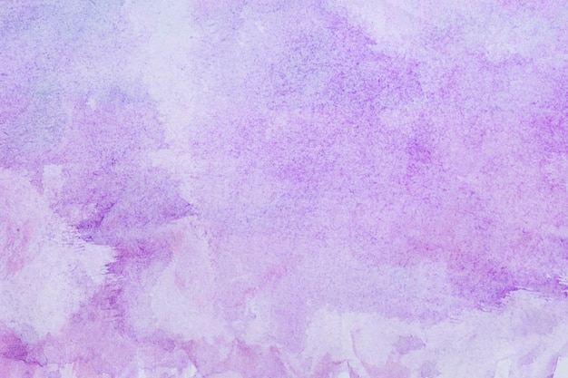 Acuarela arte mano pintura fondo morado Foto gratis