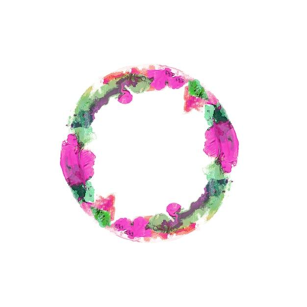 Acuarela de colores con copyspace Foto gratis