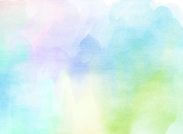 Acuarela Colorida. Fondo De Textura De Grunge. Fondo Suave
