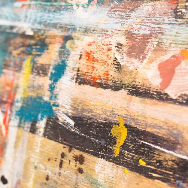 Acuarela pintada abstracta pintura de fondo Foto gratis