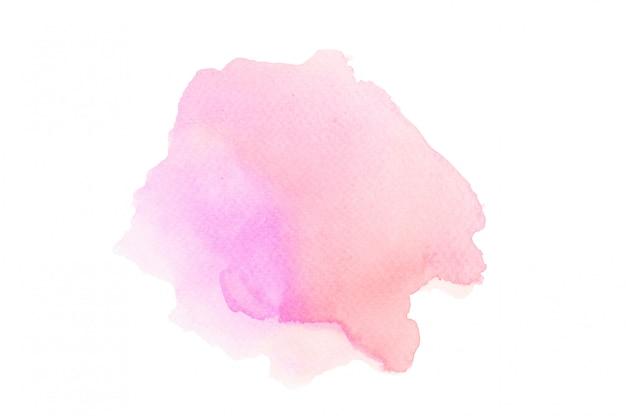 Acuarela rosa para un fondo abstracto. Foto Premium
