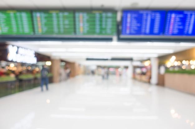Aeropuerto borroso abstracto Foto gratis