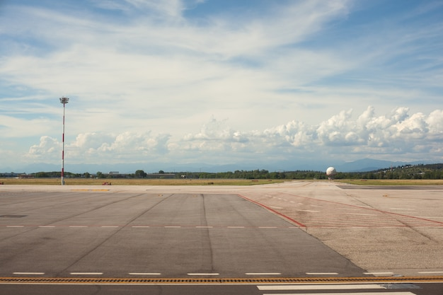 Aeropuerto de trieste Foto Premium