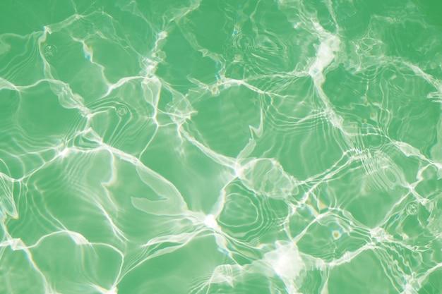 Agua Verde Hermosa En El Fondo De La Piscina Descargar Fotos Premium
