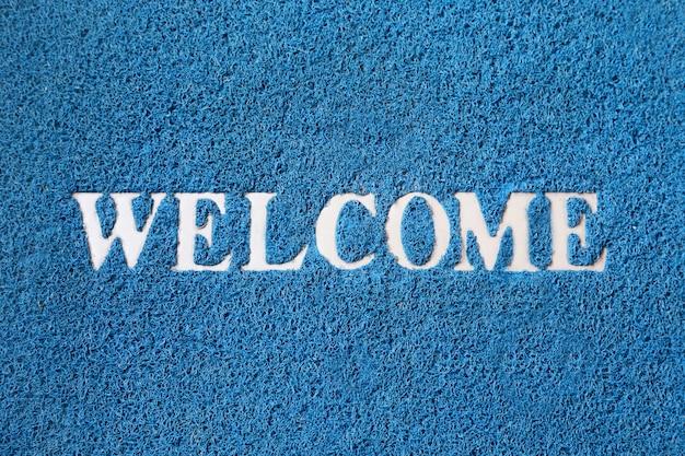 Alfombra de bienvenida | Foto Premium