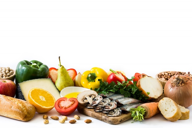 dieta de frutas verduras y pescado