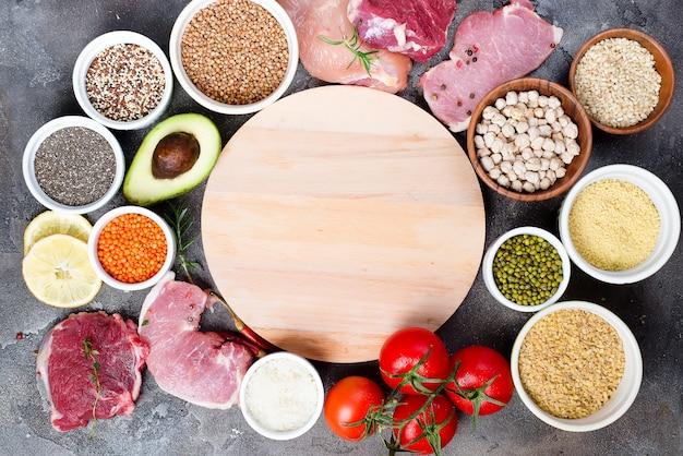 Comidas con proteinas