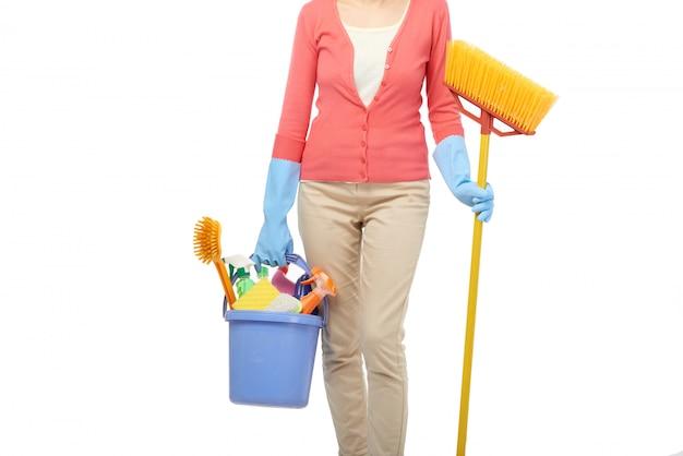 Ama de llaves limpieza casa Foto gratis