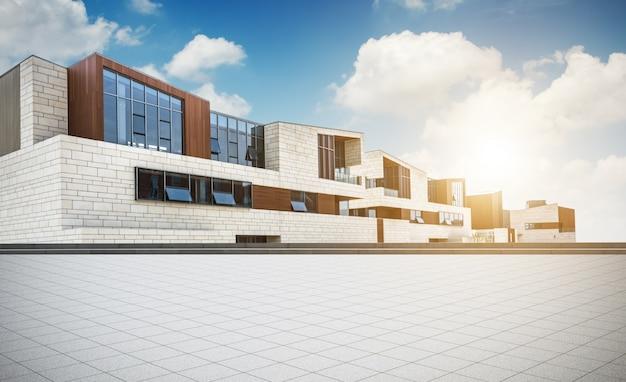 Amplio edificio de oficinas moderno Foto gratis