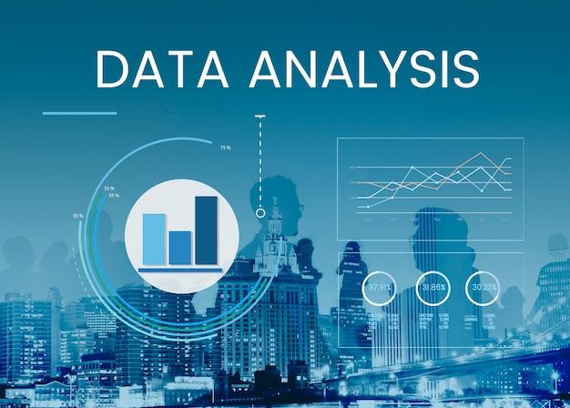 Análisis de datos comerciales Foto gratis