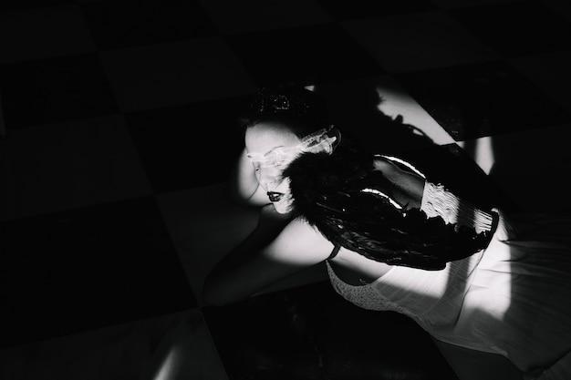 Angel en el cuarto oscuro   Descargar Fotos gratis
