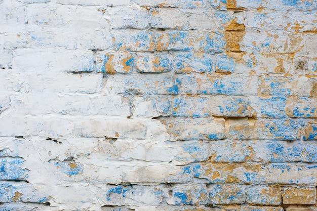 Antiguo muro de ladrillo Foto Premium