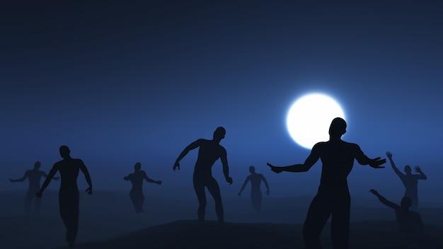 Apocalipsis zombie Foto gratis