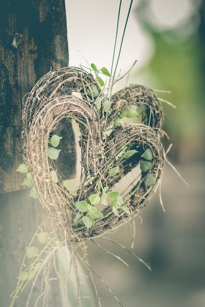 El árbol En Forma De Corazón Es Un Símbolo Del Amor Descargar